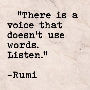 rumi intuition