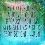 rumi quote be grateful