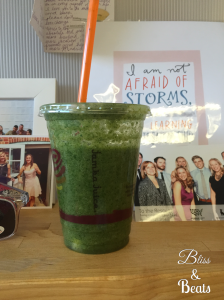Apple n Greens smoothie from Jamba Juice